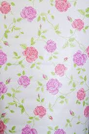 Pink Rose Shabby Chic Floral Sticky Back Plastic Vinyl Film PVC Wallpaper Sticker