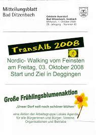 mitteilungsblatt bad ditzenbach 29 jahrgang nummer 40