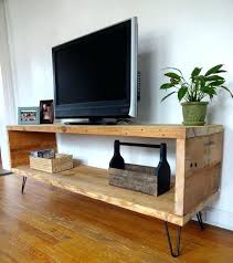 Homemade Tv Stand Corner From Wooden Pallets Pallet