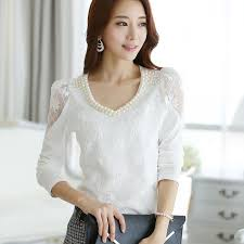 C64498a Korean Style Fashion Simple Tops For Ladies