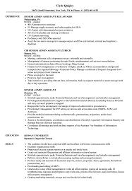 Download Senior Admin Assistant Resume Sample As Image File