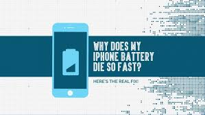 Does My iPhone Battery Die So Fast Here s The Real Fix