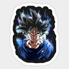 Goku Ultra Instinct Sticker