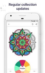 Coloring Book For Me Mandala Screenshot 2