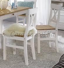esszimmer stuhl kiefer massiv weiß eichefarben küchenstuhl