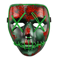 Halloween Purge 2 Mask by The Purge Election Year Rave Mask Party Festival Halloween