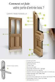 changement porte d entrée bois en rénovation thermique