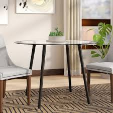 Bider Glass Dining Table