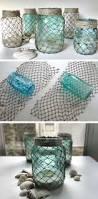 Beach Themed Bathroom Decor Diy by Best 20 Beach Jar Ideas On Pinterest Beach Mason Jars Coastal