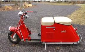 Vintage Cushman Scooter My Hubby Had A Black One In High School