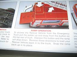 100 2005 Hess Truck New RED Emerency Truck With Rescue Vehicle Rare In