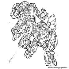 Transformers Jazz Coloring Pages