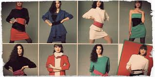 1980s Fashion Women Girls