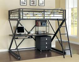 Bunk Bed Desk Combo Plans by Bunk Beds With Desk Under Kids Bed And Desk Combo With Built In