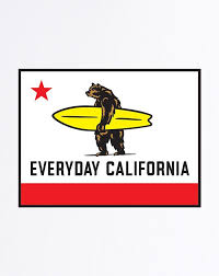 Everyday California Flag Sticker