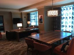 Moorea 1 Bedroom Suite dining & living rooms Picture of Mandalay