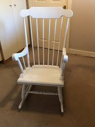 White Rocking Chair Idea For Nursery. | In Shaftesbury, Dorset | Gumtree Hampton Bay Statesville Padded Sling Swivel Patio Ding Chair 2 Beautiful Idea Wooden Child Rocking Living Room Fniture Detective Glider Rocker With 1888 Patent Is Valued At Vintage Painted Childs Rocker Red Ebay Outdoor Interiors Lowes Canada Pick Right Design Dessains 85749 Personalised Wedding Reserved Seat Memorial Gift Pretty A Baby Laik White Buy Online Best Price Ikea Poang Review Chairs Bedroom Enjoying Completed With Cozy Tortuga Oak Lowescom