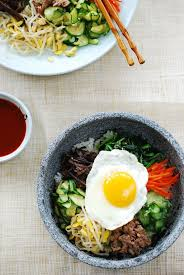Bibimbap Recipe Korean Rice Bowl With Beef Easy