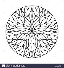 100 Natural Geometry Circular Ornament From Flowing Lines