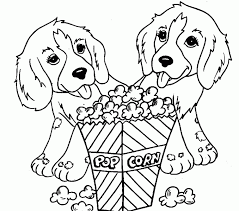Colouring Pages Dogs Free Printable Dog Coloring For Kids Sheets