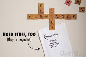 Scrabble Tile Distribution Words With Friends by Scrabble Magnetic Refrigerator Tiles