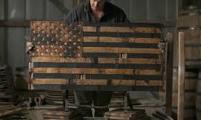 The Heritage Flag Company Makes One Of Kind Hand Made Wooden American