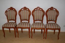 4 hochwertige neuwertige esszimmerstühle antik je 25
