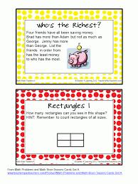 Halloween Brain Teasers Math by Freebie Brain Teasers Task Cards I Love Math That Makes Them