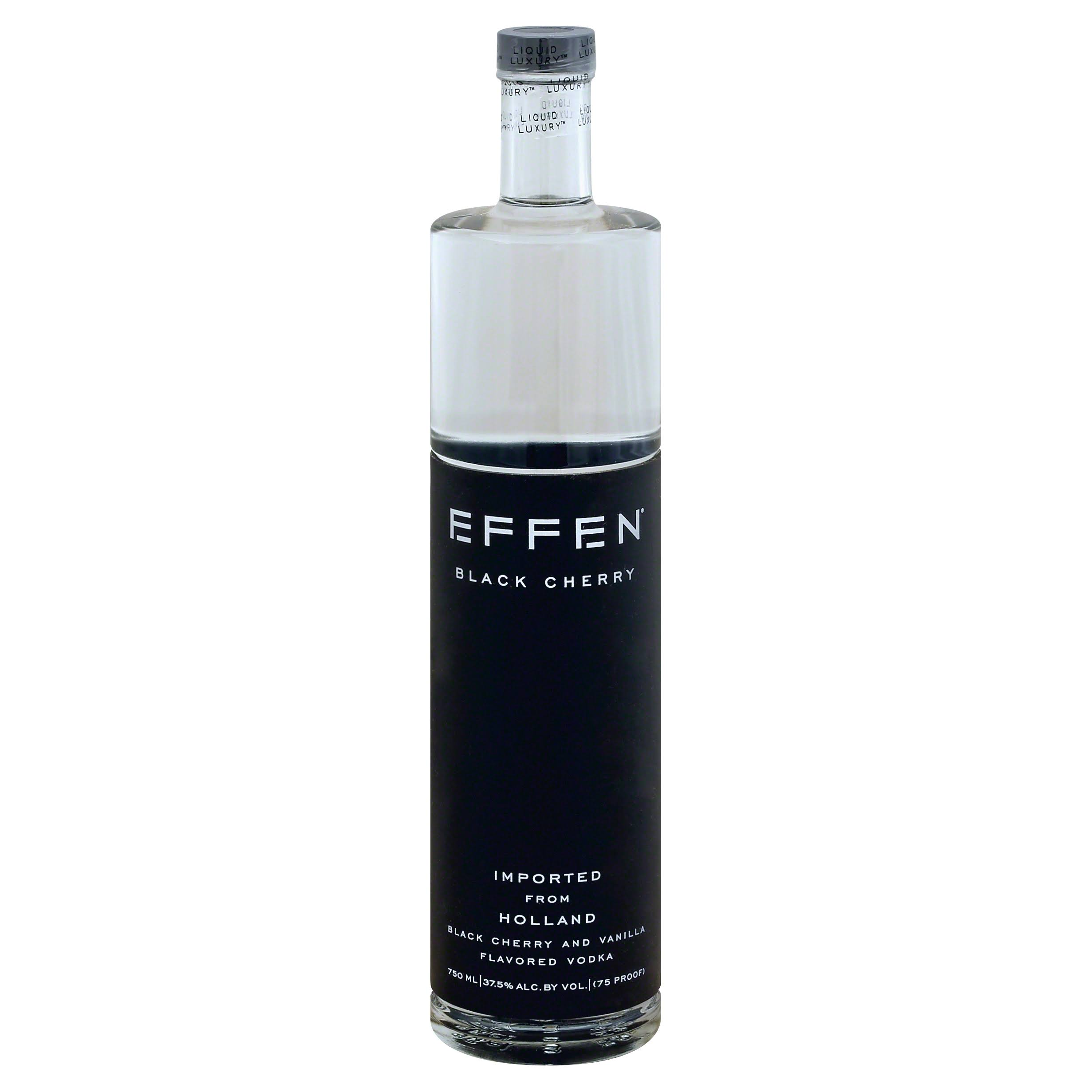 Effen Vodka, Black Cherry - 750 ml