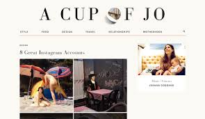 1 A Cup Of Jo