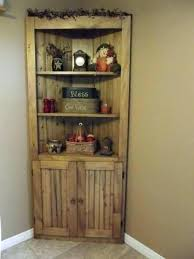 Rustic Corner Shelf