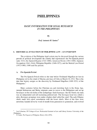 Cabinet Agencies Of The Philippines by Basic Information In Legal Research In The Philippines 1