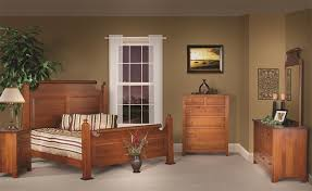 Enchanting Amish Furniture Bedroom Sets Holmes County Made Set In White Oak