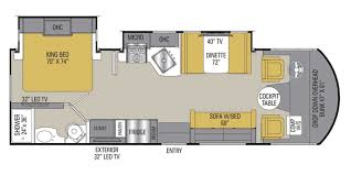 Coachmen Class C Motorhome Floor Plans by 2018 Coachmen Pursuit Precision 27ds Motorhome A Or20375
