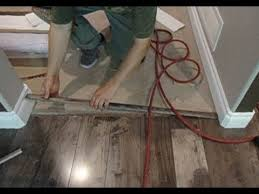 Wood To Tile Metal Transition Strips by Laminate Floor Transition To Carpet How To Install