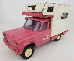 100 Truck Camper Parts Vintage Tonka Pressed Steel Jeep Gladiator RV Pink White