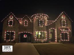 Christmas Lights & Sirens Product Service Lewisville Texas