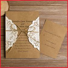 Do It Yourself Wedding Invitations 67415 Fresh Rustic Invitation Kits Gallery