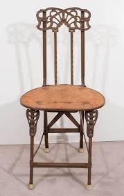 100 Folding Chair Art Four Nouveau S In Cast Iron Nouveau Furniture