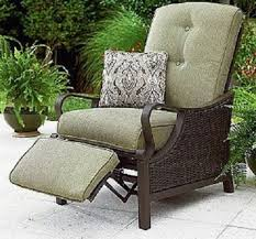 Allen And Roth Patio Cushions by Decorating Rattan Chair With Lowes Patio Cushions Plus Foot Rest