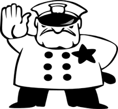 Police ficer Clipart Black And White