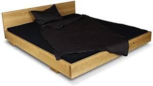 greenhaus massivholzbett 160x200 cm eiche massiv holz und handarbeit aus deutschland balkenbett vollholz bett bettgestell