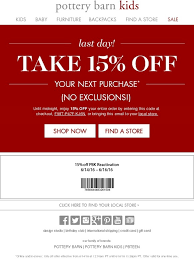 Pottery Barn Coupons 10 f mejorstyle