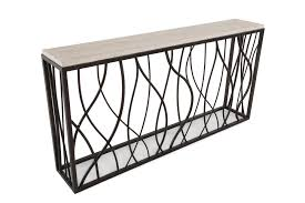 Mathis Brothers Sofa Tables by Hooker Stone Iron Console Table Mathis Brothers Furniture