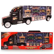 Toy Truck Transport Car Carrier Toy For Boys And Girls Age 3 - 10 ... 13 Top Toy Trucks For Little Tikes Ourwarm New Year27s Toys Vintage Red Metal Truck Kids Holiday Gifts 2019 Portable Large Container Alloy Trailer With 6 Cars Vehicle Playsets Wilkocom Free Shipping Russian Kamaz Military Model Diecast A Pcs Set Kidss Scale Machines Car Mini Best Choice Products Ride On Fire Truck Speedster Wvol Channel Electric Rc Remote Control Full Functional Christmas Gift With Movable Wheel The 15 Coolest Garbage For Sale In 2017 And Which Is Trucktank Trucks