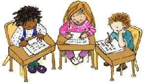 Students Working Quietly Clipart ClipartXtras