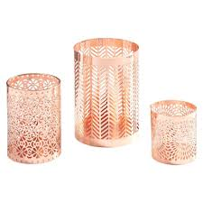 Rose Gold Home Decor