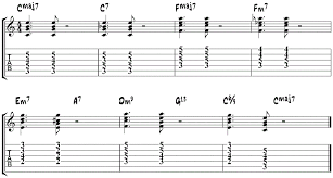 the 10 most popular jazz chord progressions exles