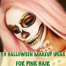 Halloween Contact Lenses Uk by Halloween Makeup Looks Pink Hair Wigs Blog Star Style Wigs