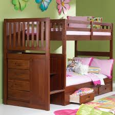 viv rae kaitlyn twin over twin bunk bed with stairs reviews